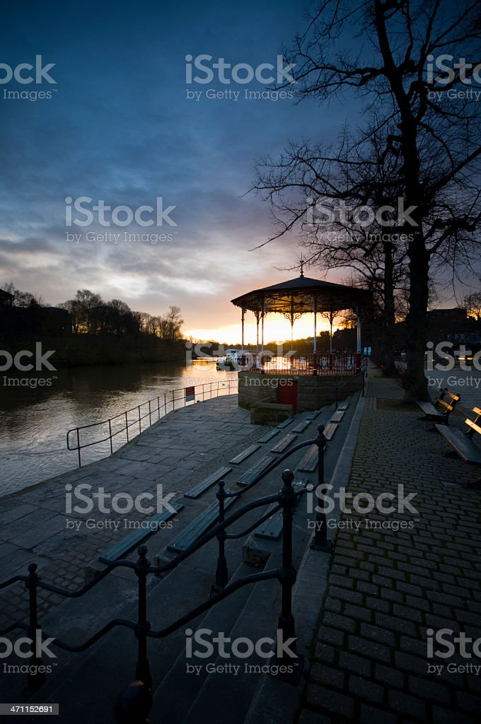 Chester Band Stand stock photo