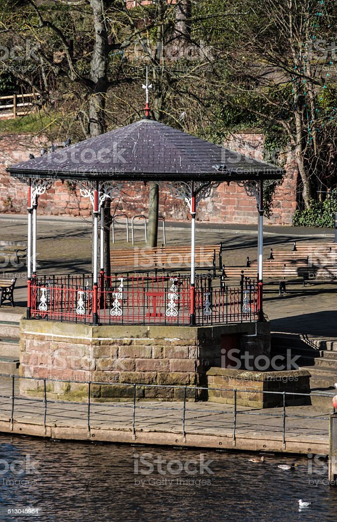 Chester Bandstand stock photo
