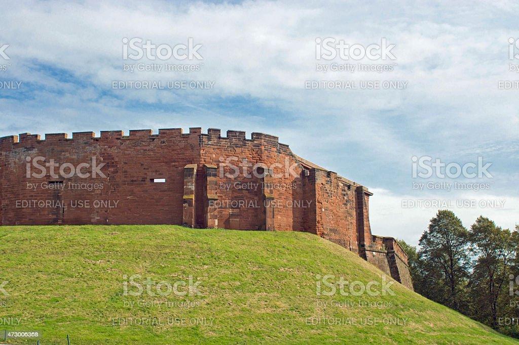 Chester Castle stock photo