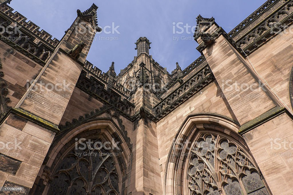 Chester Cathedral, Cheshire stock photo