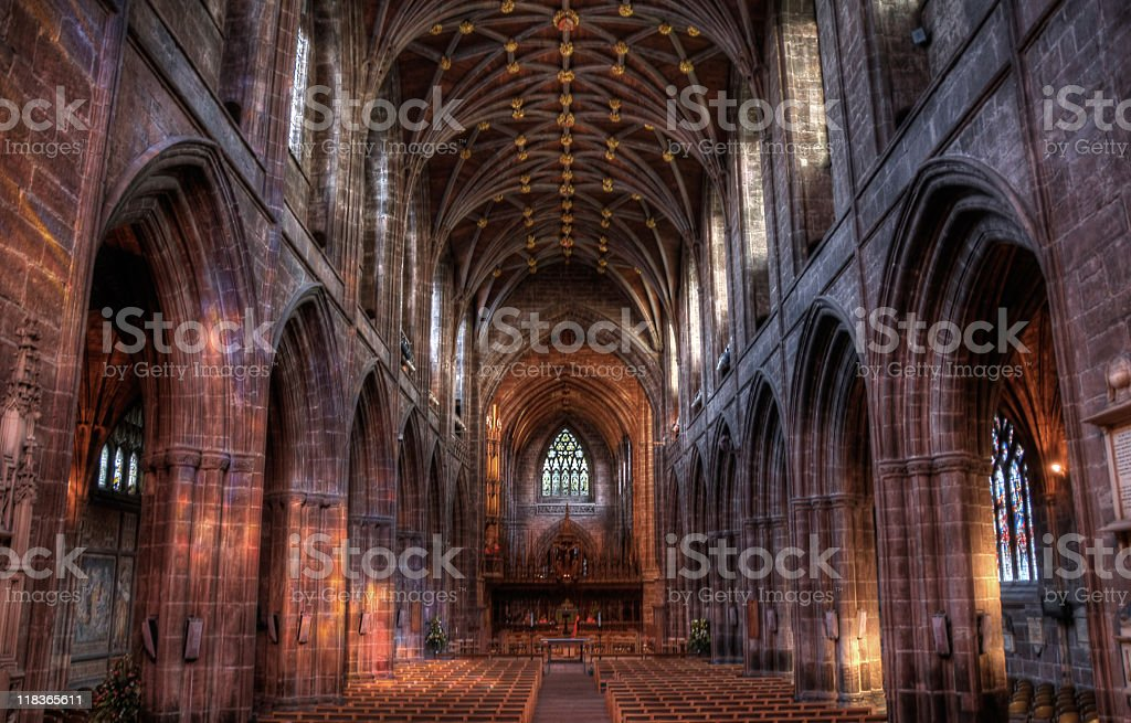 Chester Cathedral royalty-free stock photo