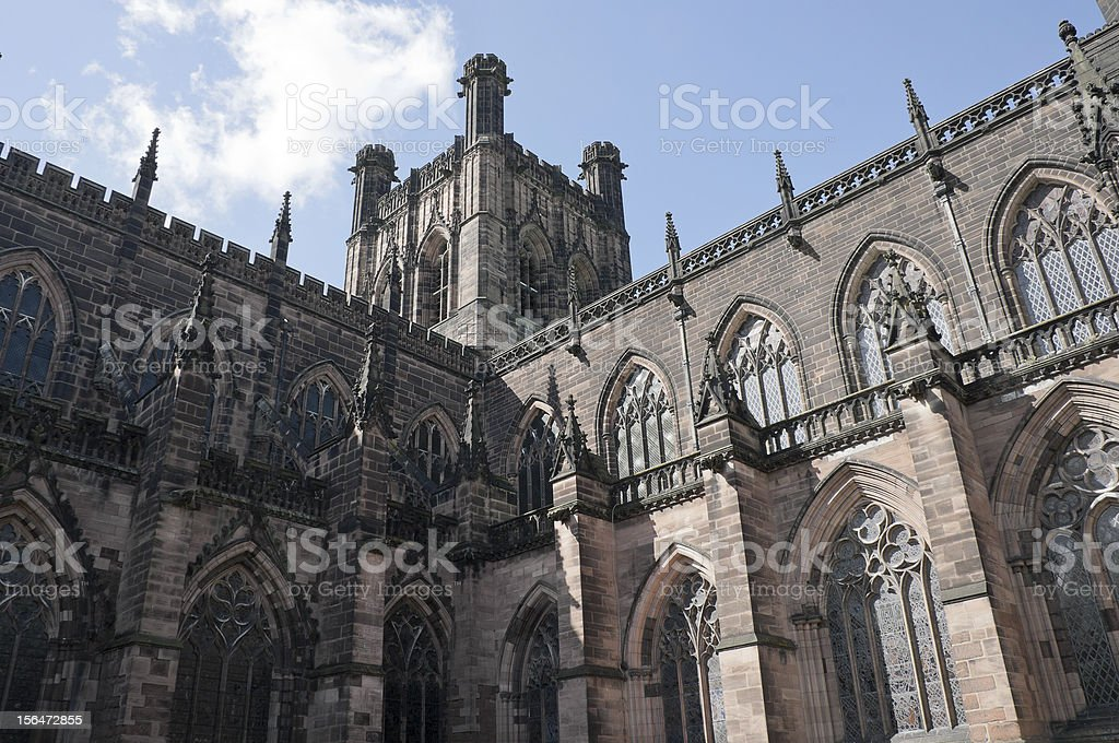 Chester Cathedral. royalty-free stock photo