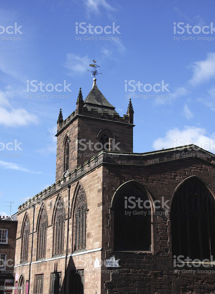 Chester Church Cheshire royalty-free stock photo