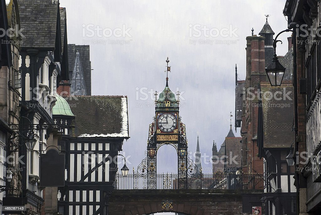Chester, England royalty-free stock photo
