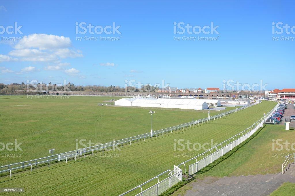 Chester Racecourse stock photo