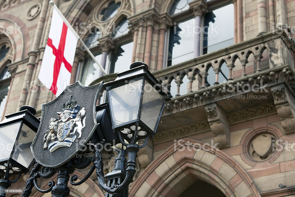 Chester Town Hall stock photo