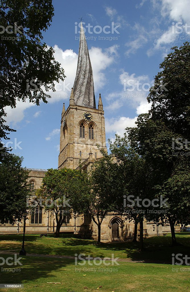 Chesterfield royalty-free stock photo