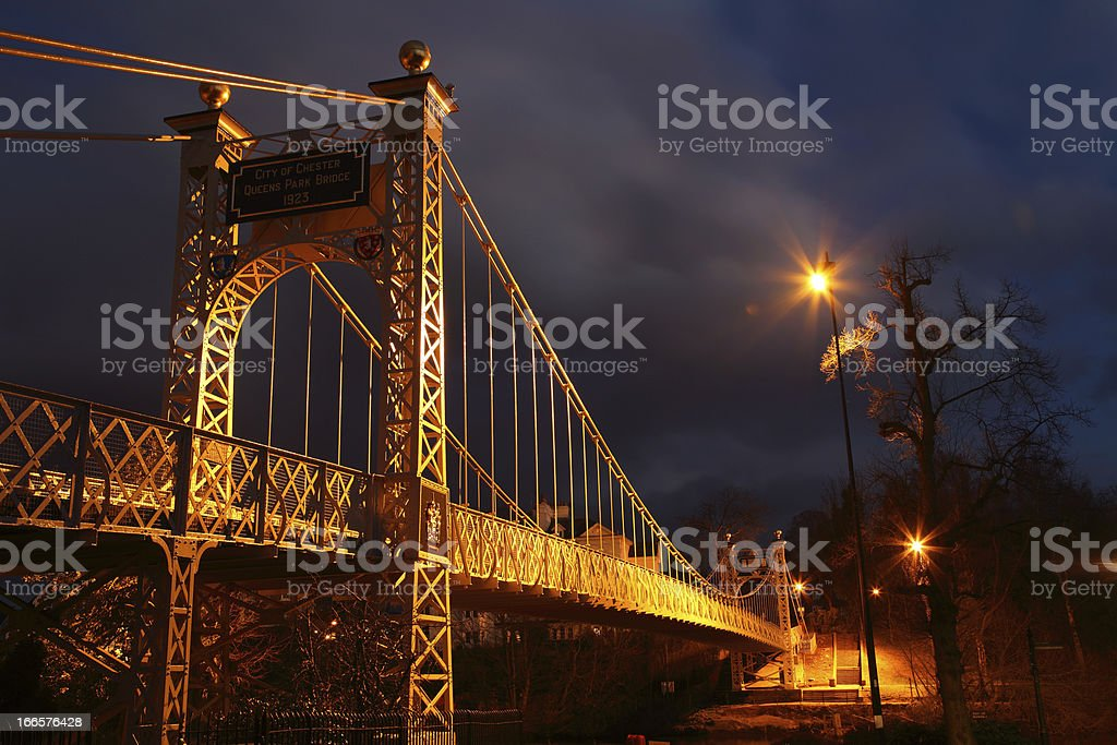 Chesters Queens Park Bridge royalty-free stock photo