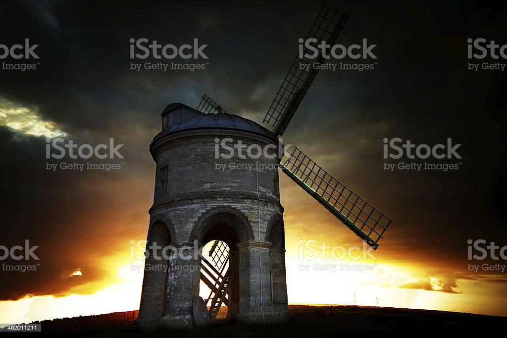 Chesterton windmill stock photo