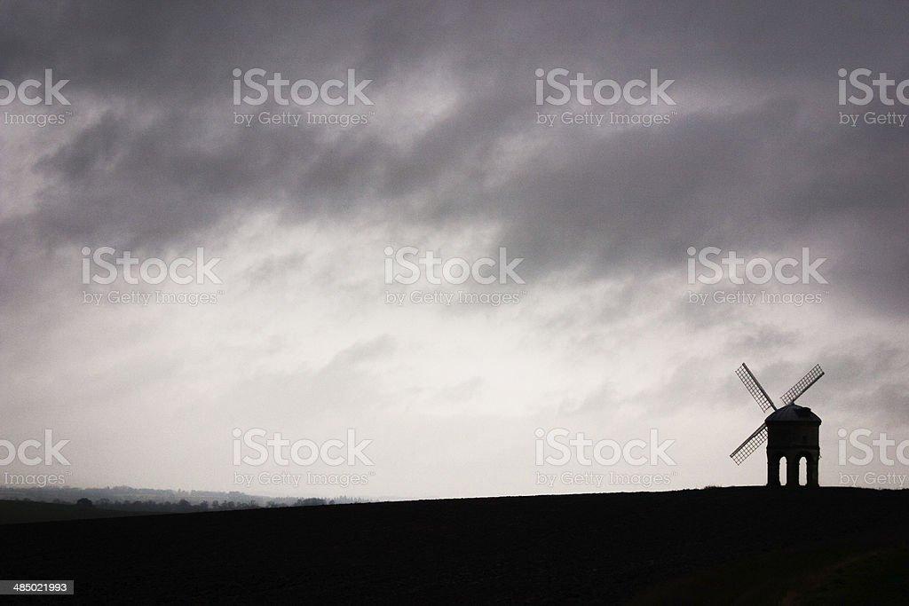 Chesterton Windmill royalty-free stock photo