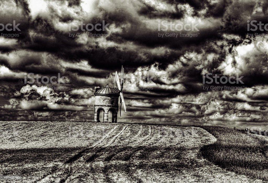 Chesterton Windmill, Warwickshire, England stock photo