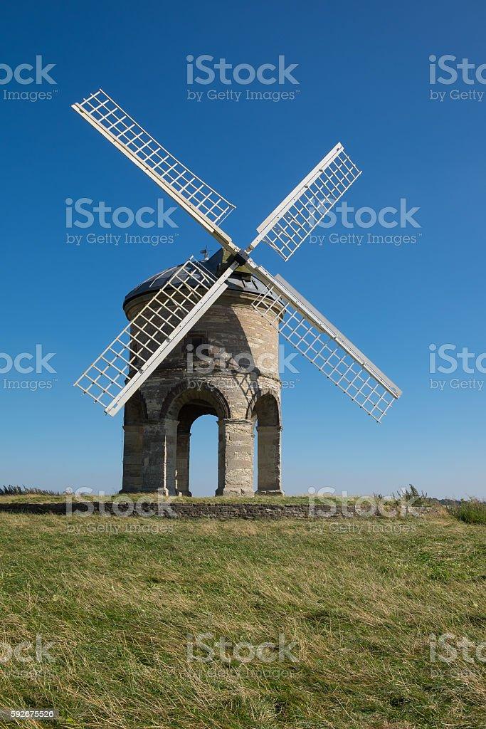 Chesterton Windmill, Warwickshire stock photo