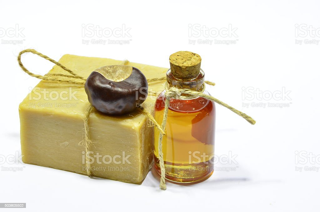 chestnut oil royalty-free stock photo