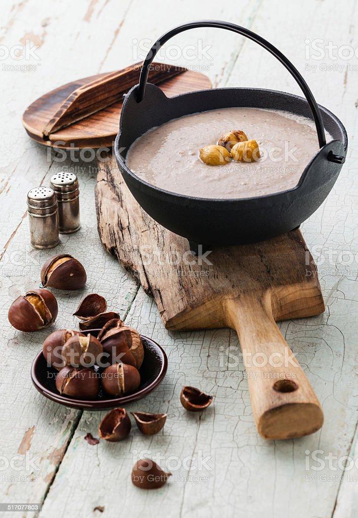 Chestnut-Suppe – Foto