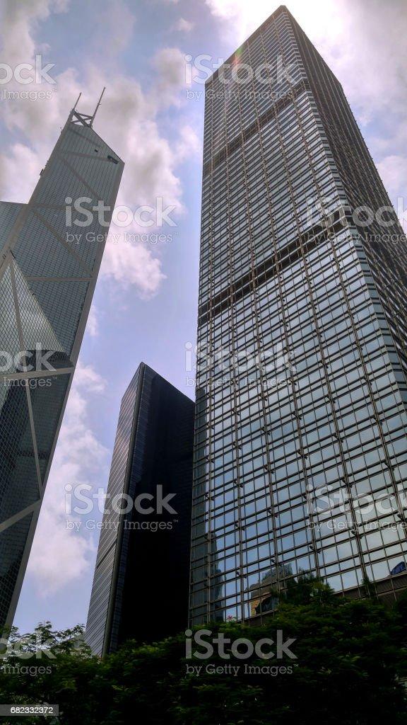 Cheung Kong Centre, Hong Kong stock photo