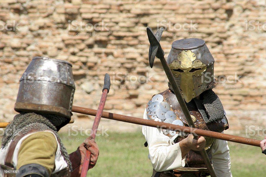 chevaliers stock photo