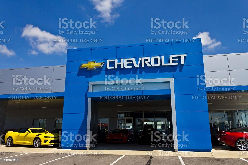 Chevrolet Automobile Dealership I stock photo