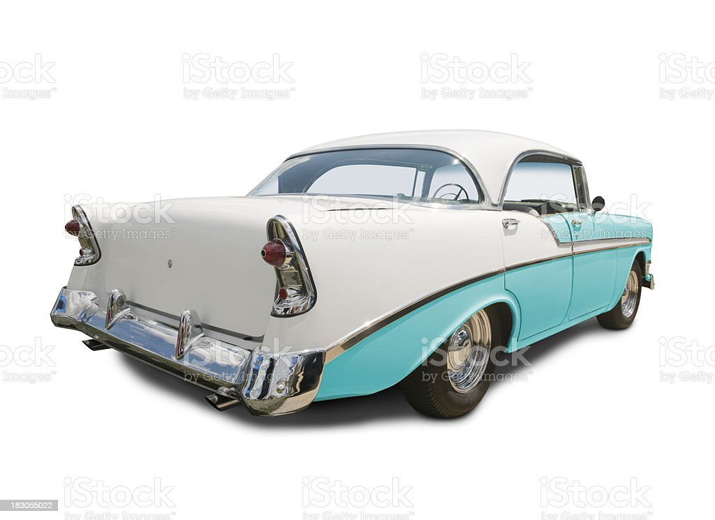 Chevrolet Bel Air 1955 royalty-free stock photo