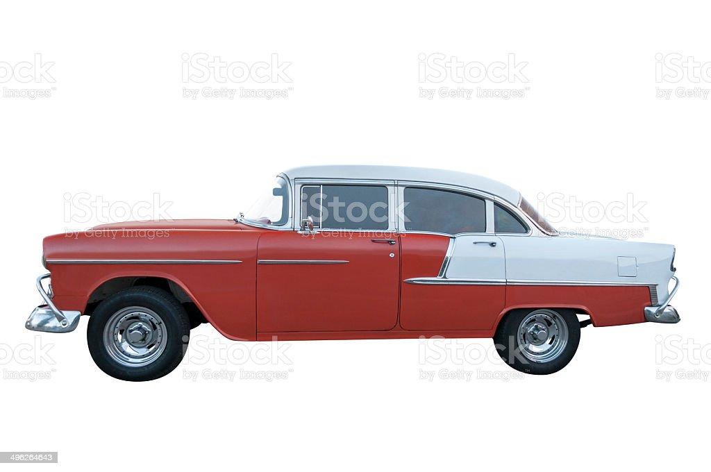 Chevrolet bel air 1957 stock photo