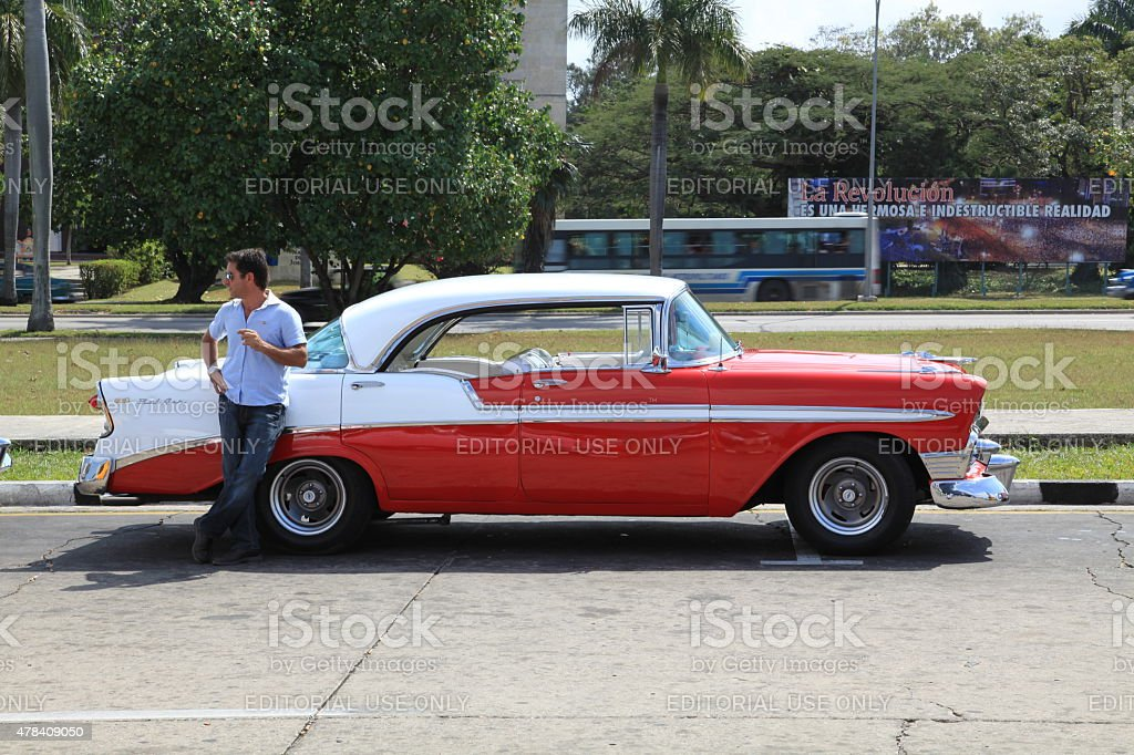 Chevrolet Bel Air 2 Door Hardtop 1956 stock photo