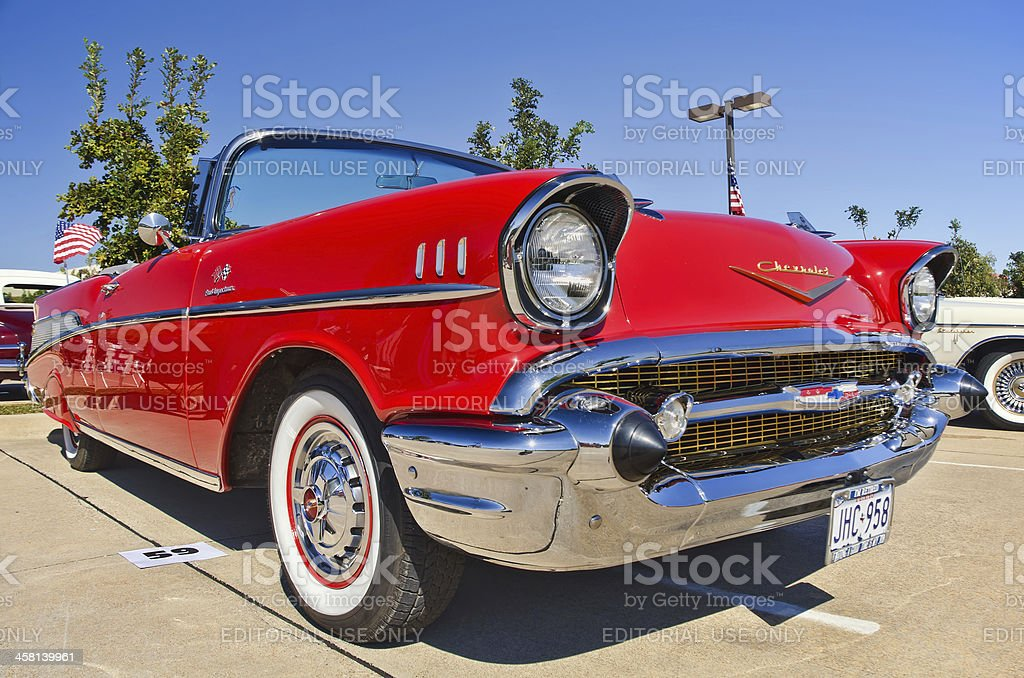 Chevrolet Bel Air, American Classic Car stock photo