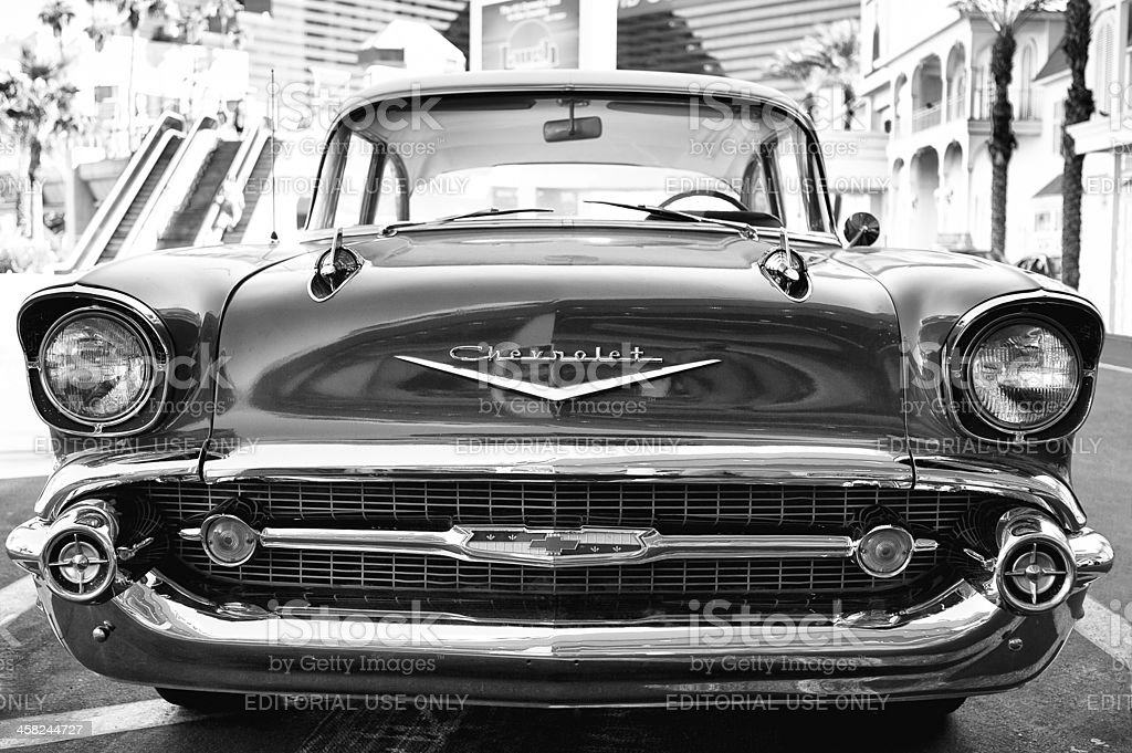 Chevrolet Bel Air 1957 stock photo