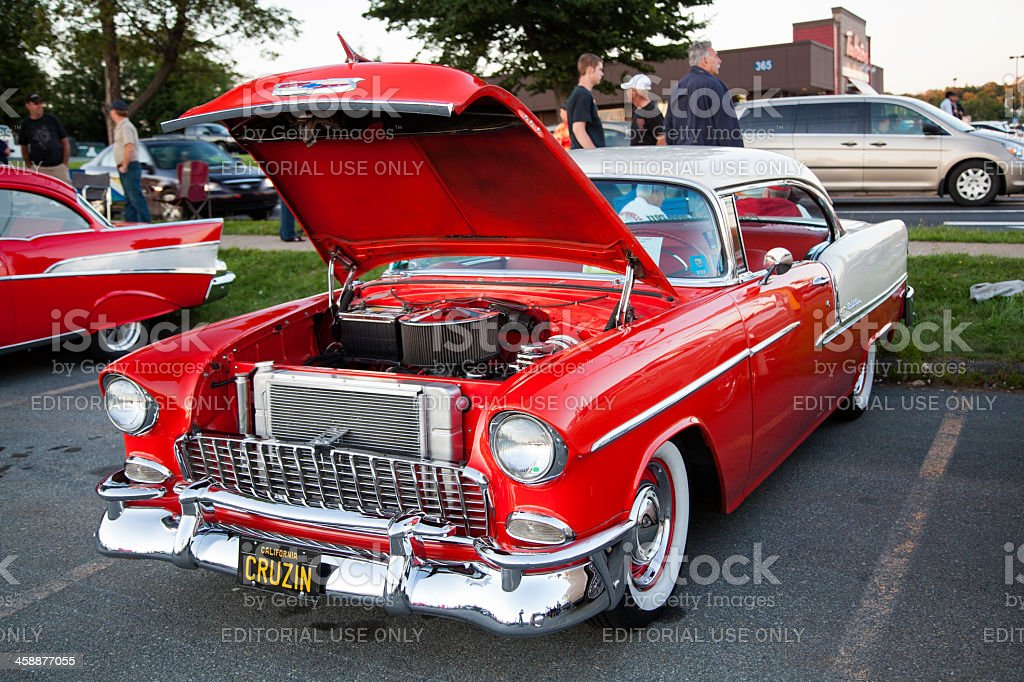 Chevrolet Bel Air royalty-free stock photo