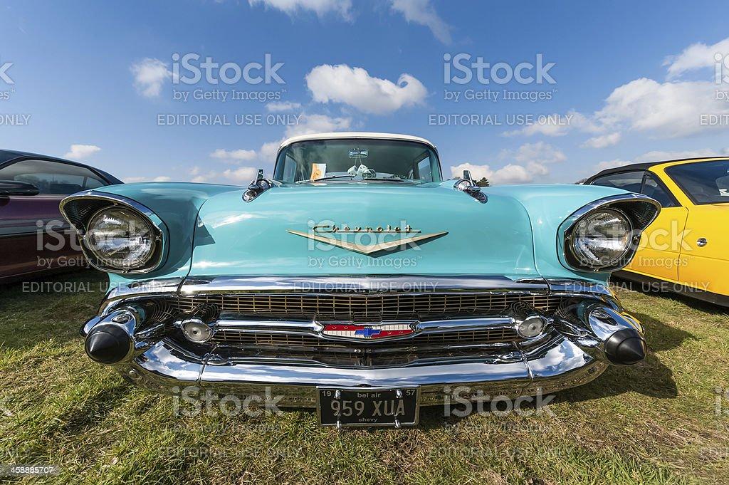 Chevrolet Bel Air royalty-free stock photo