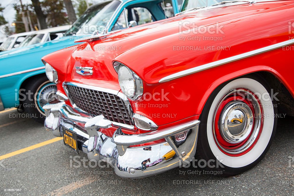 Chevrolet Bel Air stock photo