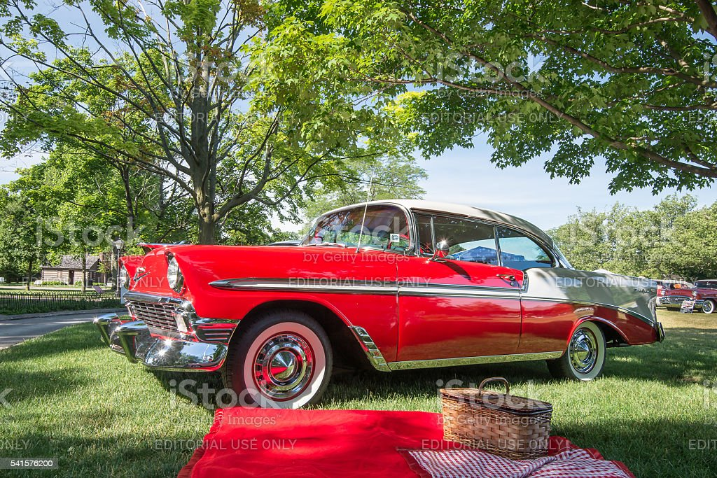 1956 Chevrolet Bel Air stock photo