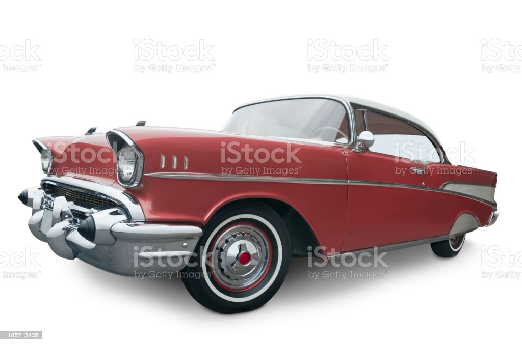 Chevrolet Belair from 1957 stock photo