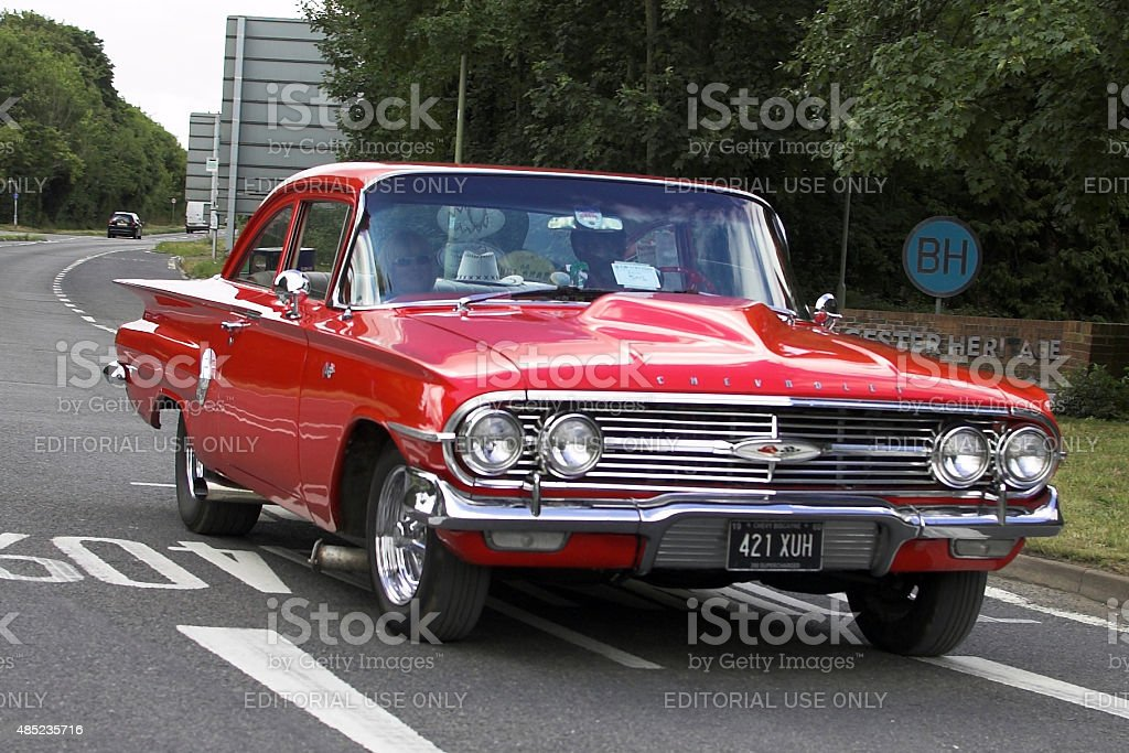 Chevrolet Biscayne classic car stock photo