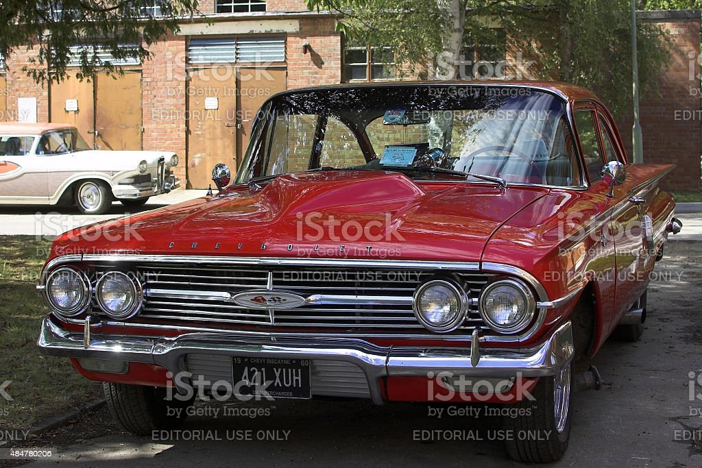Chevrolet Biscayne from 1960 stock photo