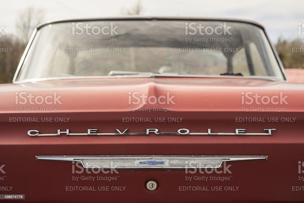 Chevrolet Biscayne stock photo
