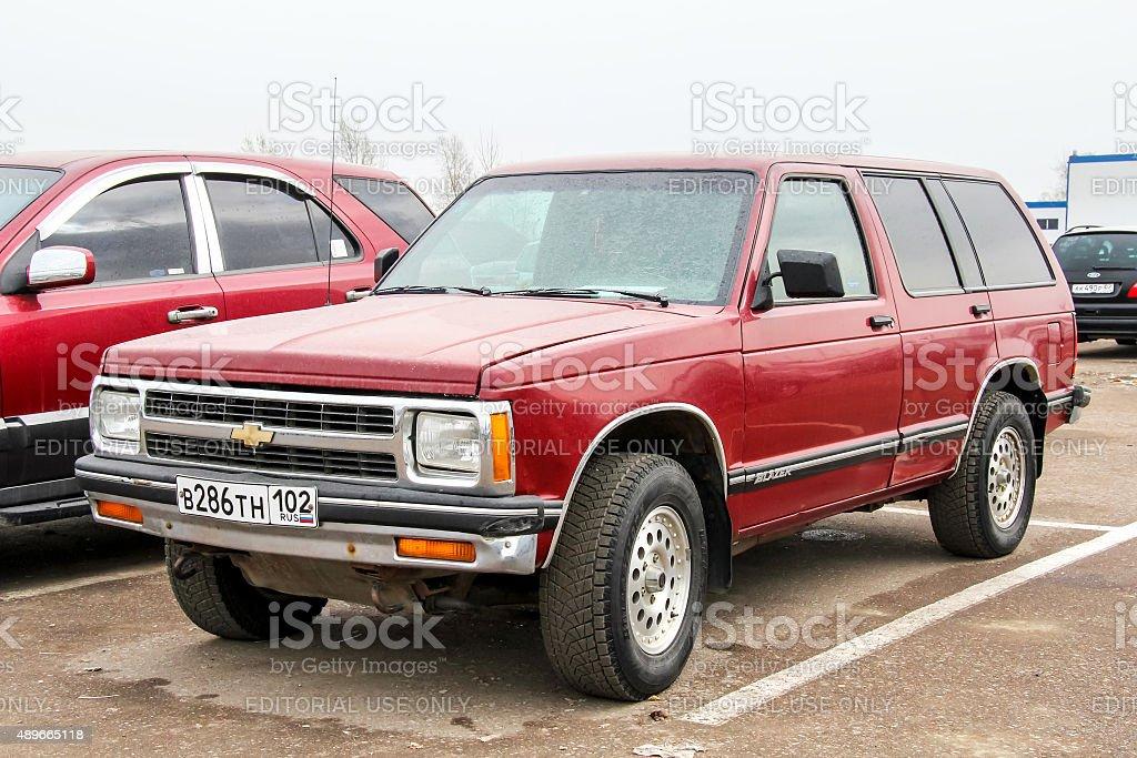 Chevrolet Blazer stock photo
