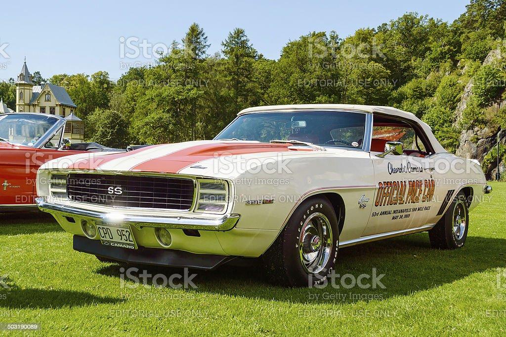 Chevrolet camaro 1969 stock photo