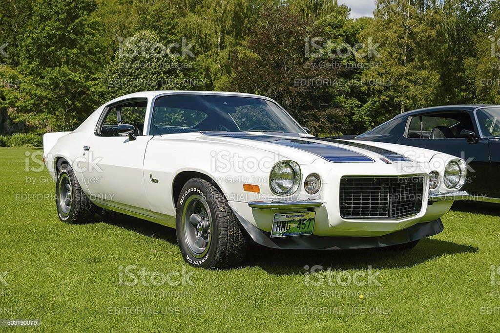 Chevrolet Camaro 1972 stock photo