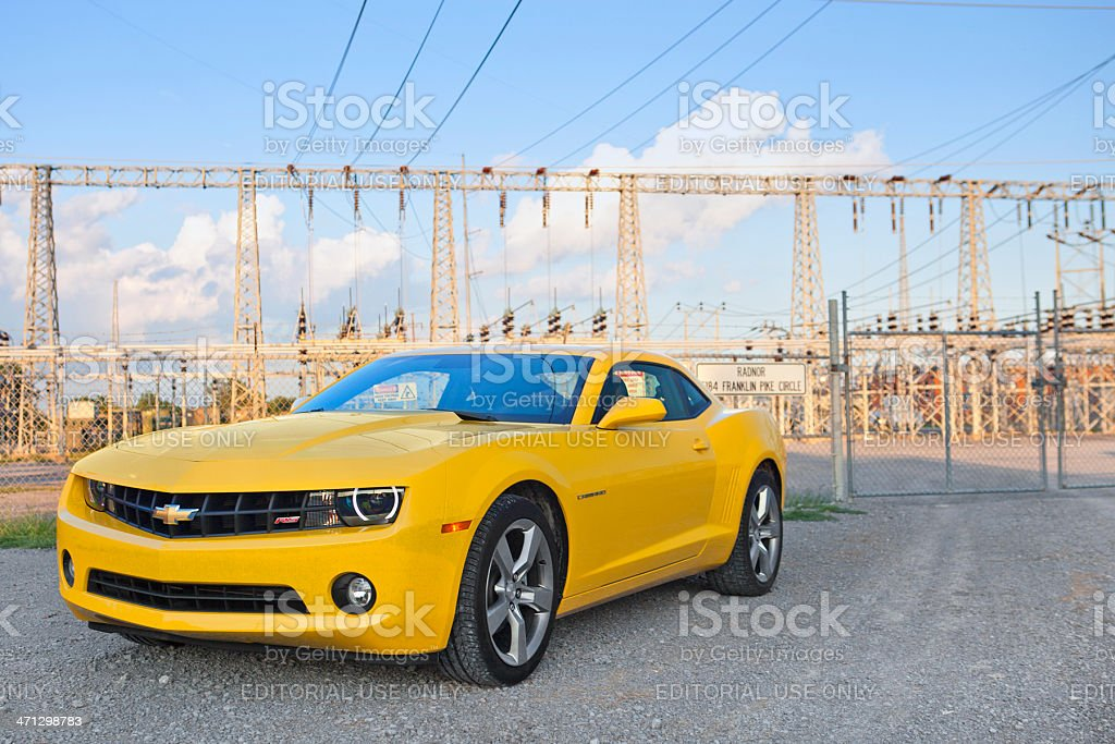 Chevrolet Camaro royalty-free stock photo
