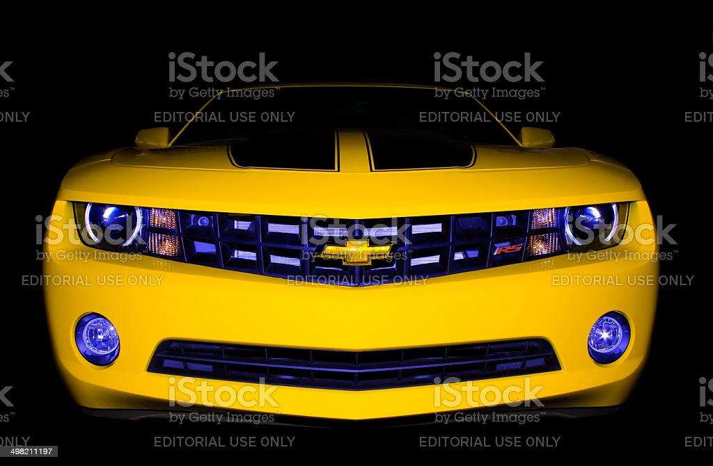 Chevrolet Camaro RS stock photo