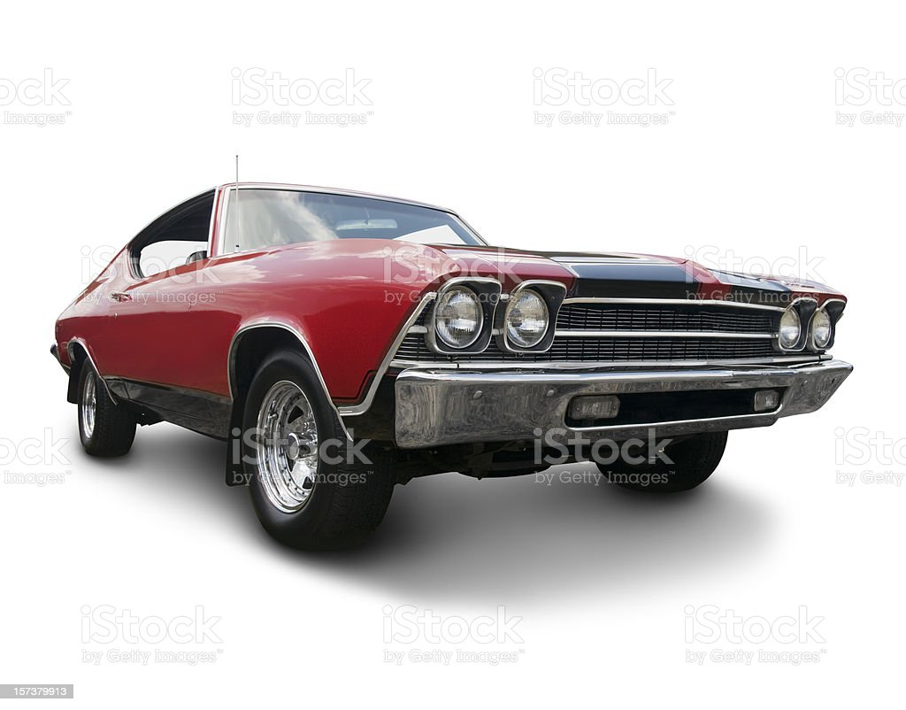 Chevrolet Chevelle 1969 stock photo
