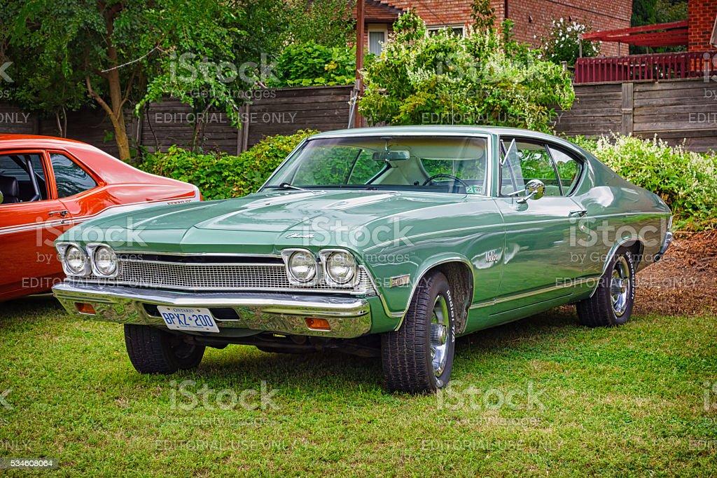 1968 Chevrolet Chevelle Malibu stock photo