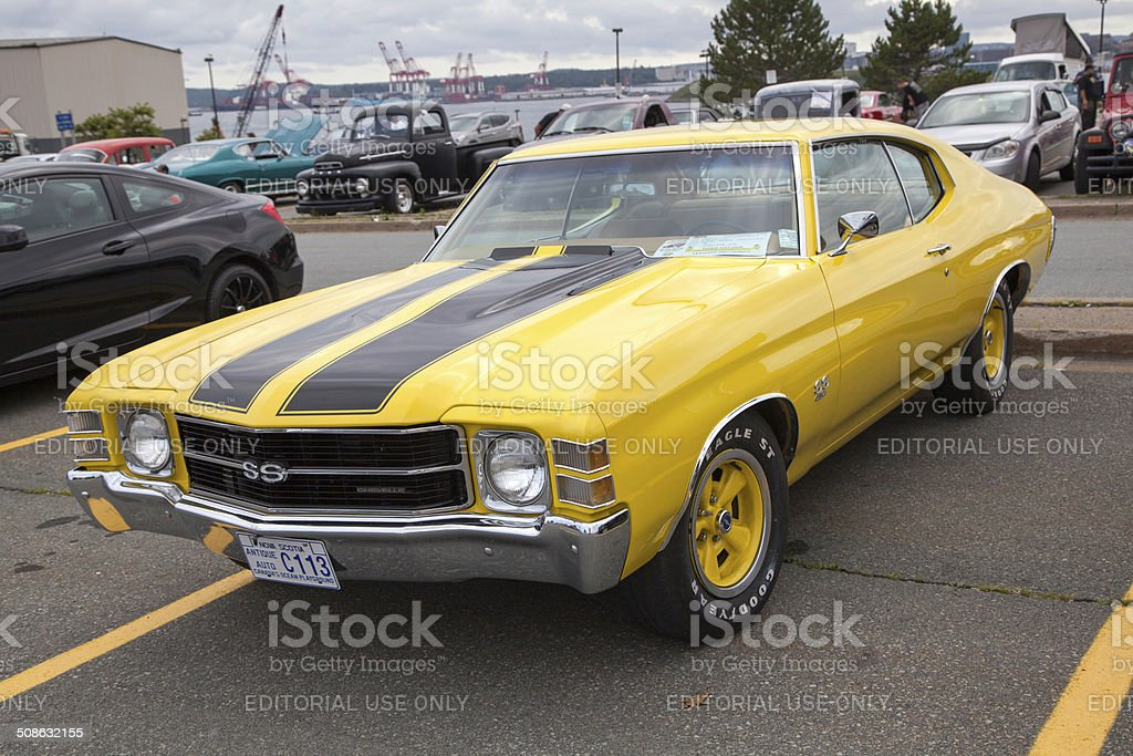 Chevrolet Chevelle SS stock photo