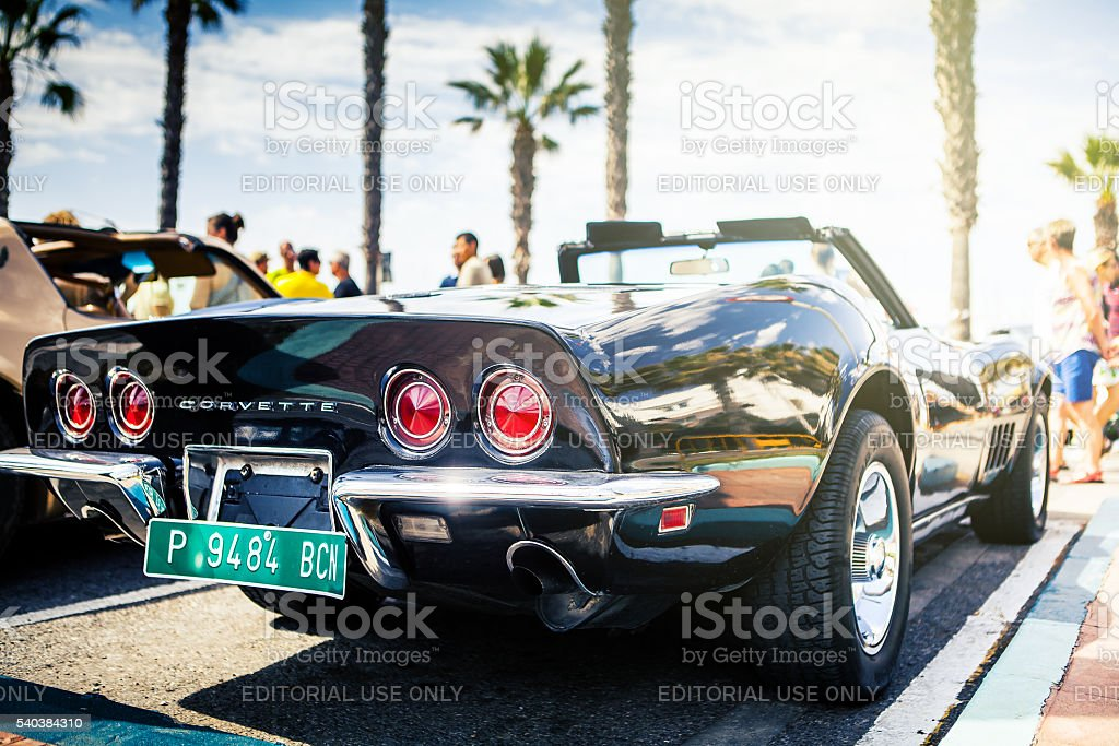 Chevrolet Corvette C3. stock photo