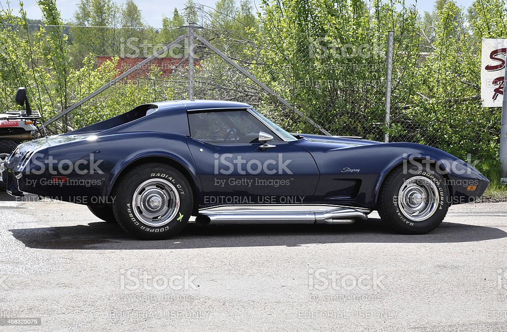 Chevrolet Corvette from 1974 royalty-free stock photo