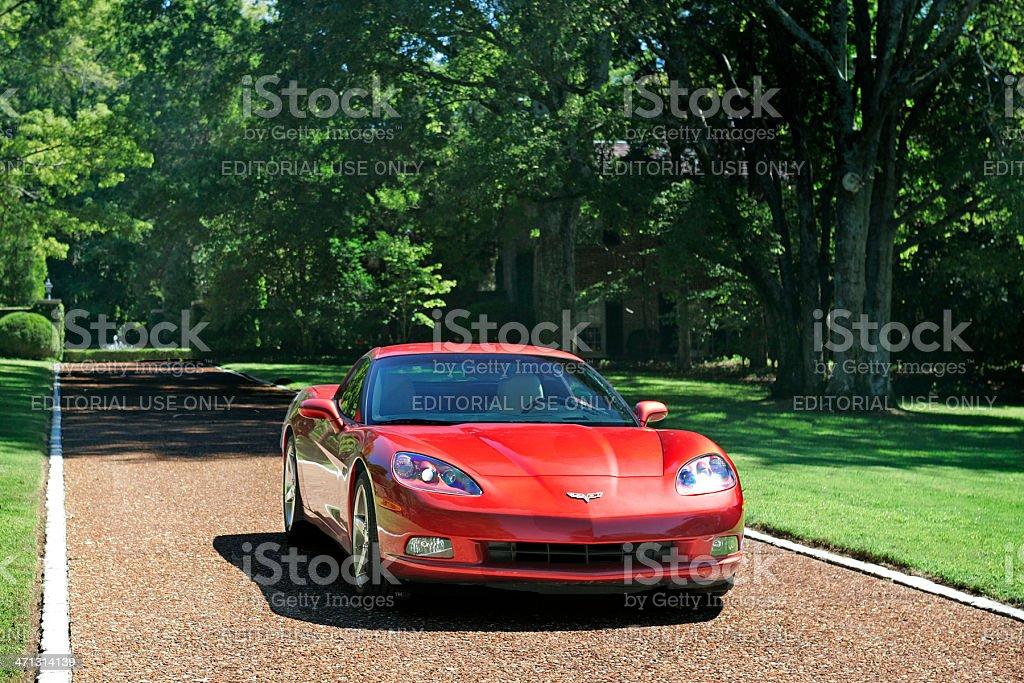 Chevrolet Corvette royalty-free stock photo