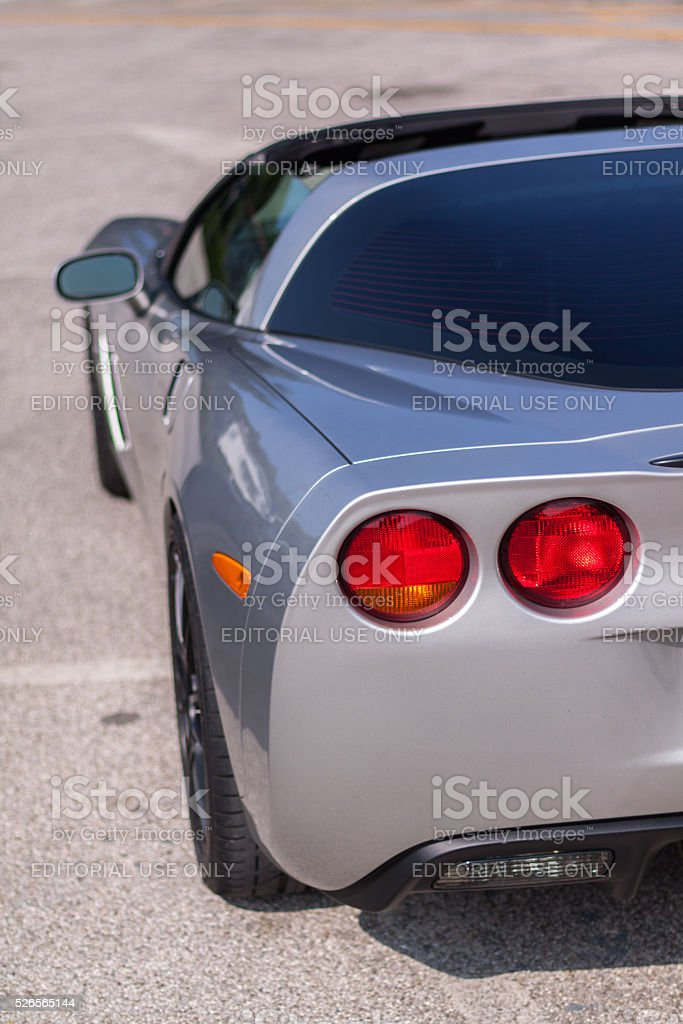 Chevrolet Corvette stock photo