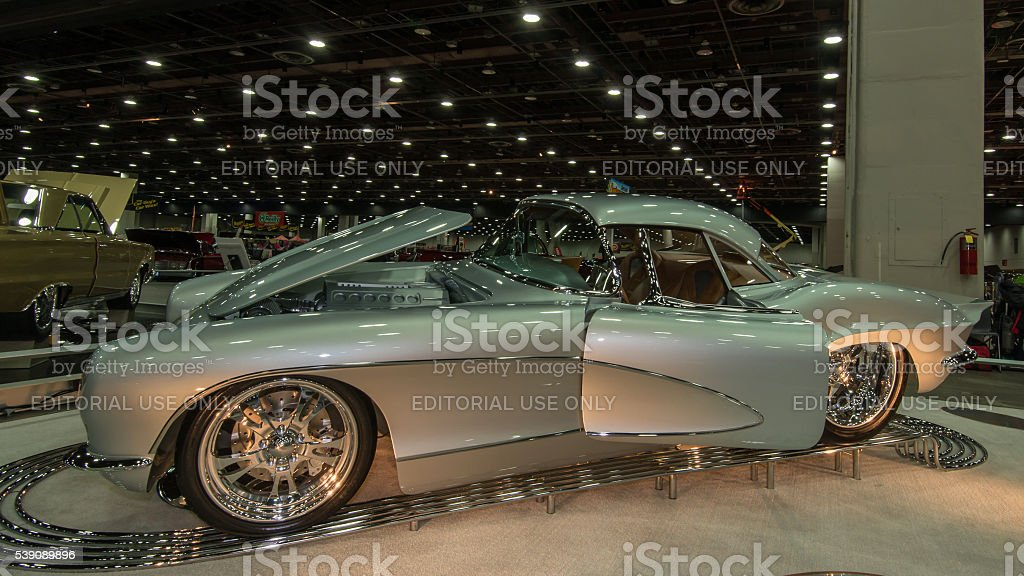 1962 Chevrolet Corvette stock photo