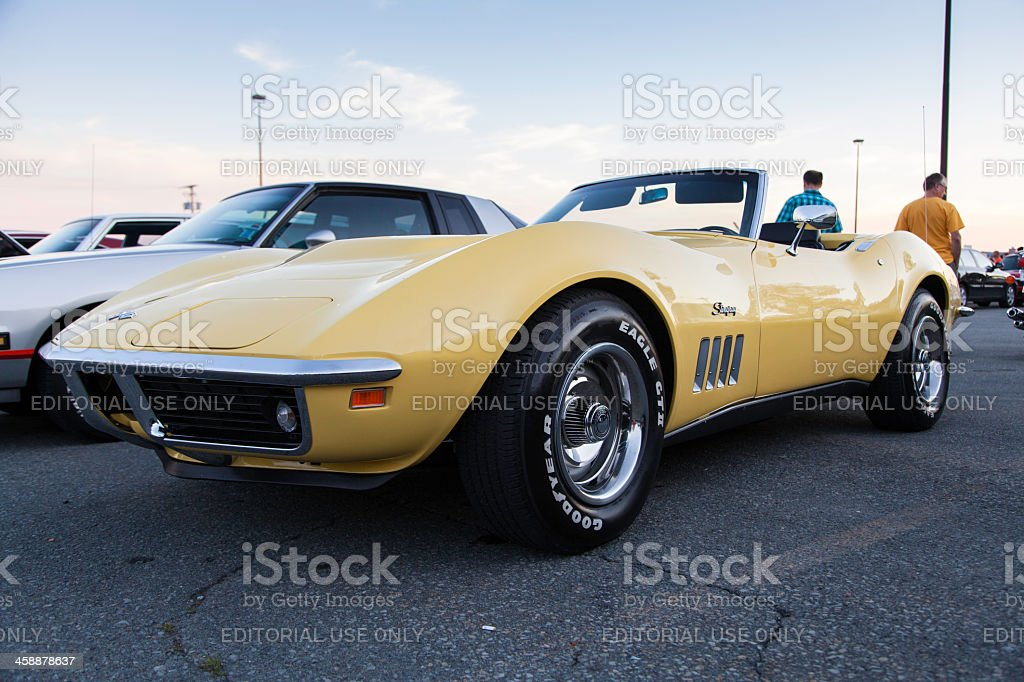 Chevrolet Corvette Stingray Convertible royalty-free stock photo