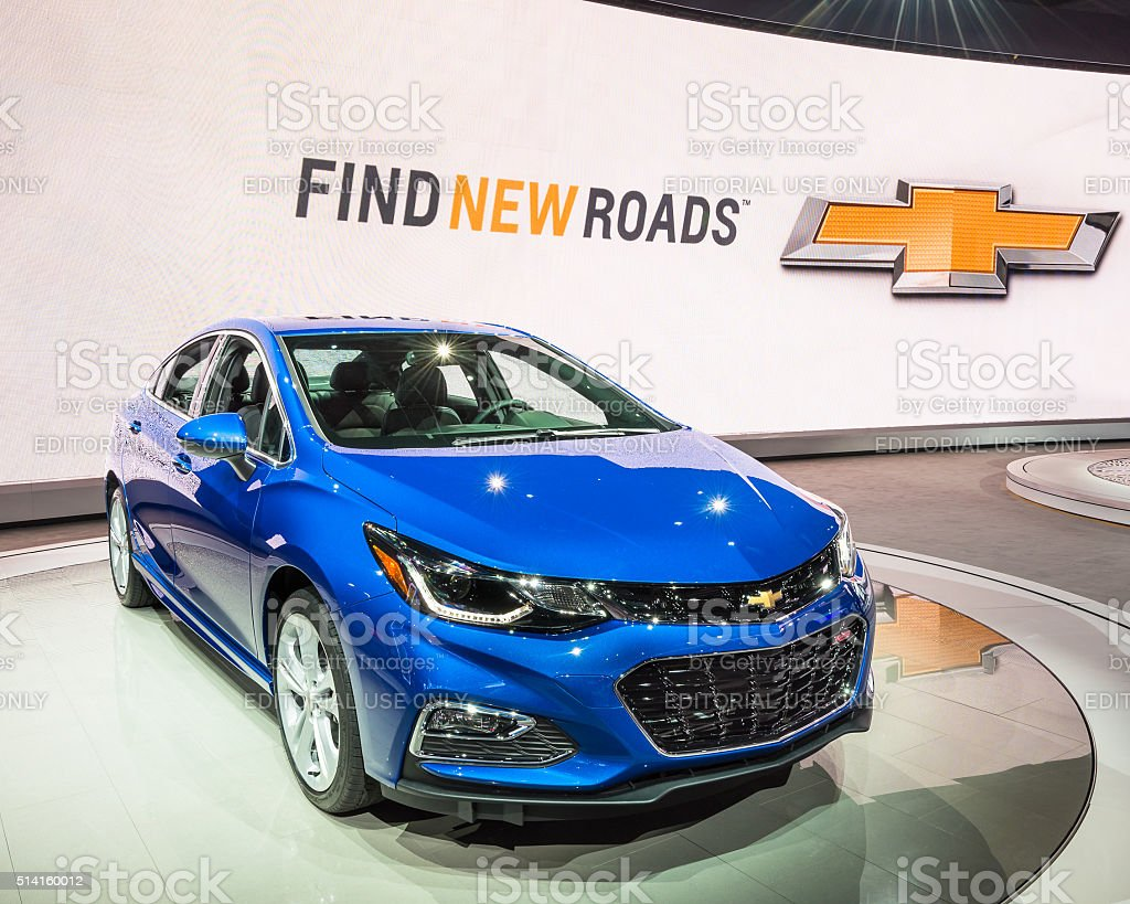 2016 Chevrolet Cruze RS stock photo