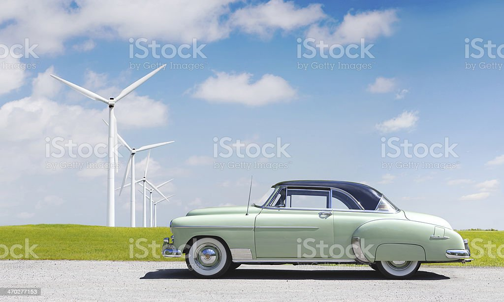 Chevrolet Deluxe 1950 stock photo
